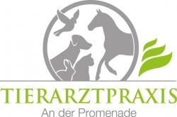 """Tierarztpraxis """"An der Promenade"""" Weißenfels Logo"""